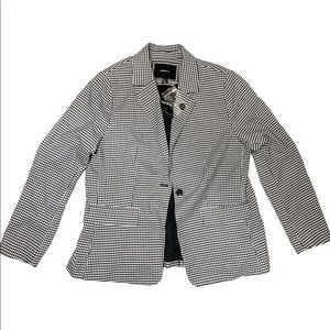 FOREVER 21+ Blazer NWT Houndstooth Plus Size